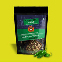 Jalapeno Twist Dry Roasted Peanuts (Pack of 3), 3 x 130 g