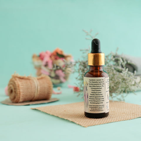 Aromatherapy Elixir Face Oil (With Lavender and White Chestnut)