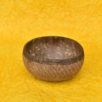 Eco Friendly Jumbo Coconut Bowl (Artistic Design)