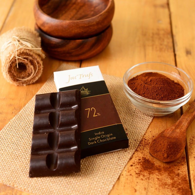 Artisanal 72% Couverture Chocolate Bar