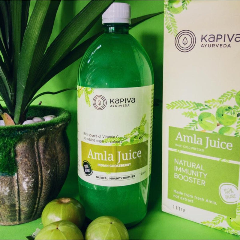Amla Juice (Indian Gooseberry) - Raw, Cold Pressed