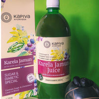 Karela Jamun Juice (Bitter Gourd & Indian Blackberry)