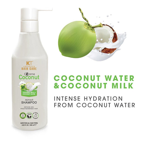 Extreme Coconut Hair Repair Shampoo 250ml (useful for dry, frizzy and damaged hair)