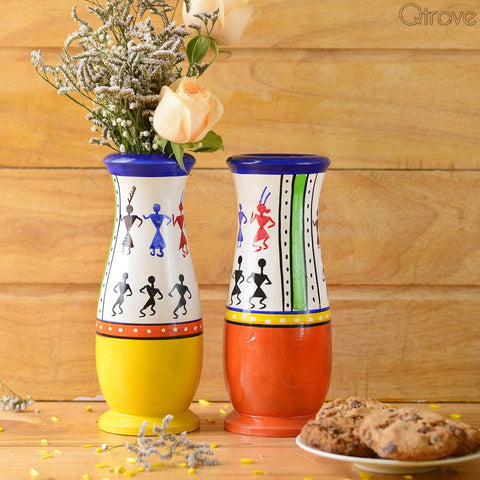 Wooden Vase (Set of 2)
