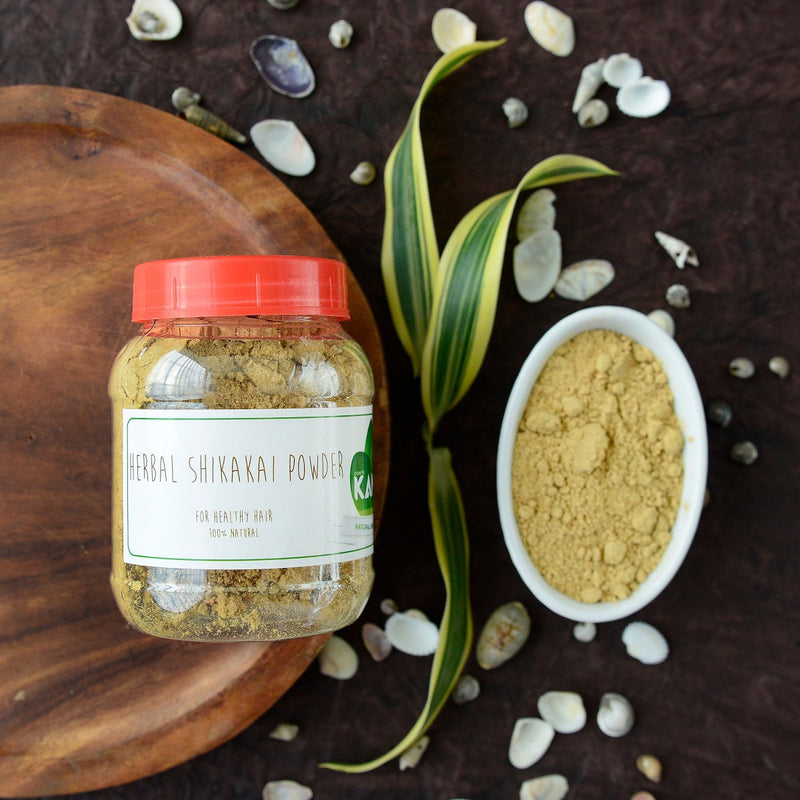 100% Natural Herbal Shikakai Powder