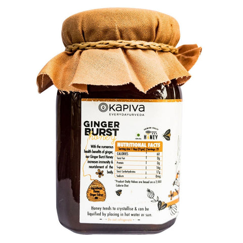 Ginger Burst Honey (Fights Common infections)