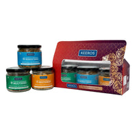 Healthy Roasted Supersnacks 3 Jar Gift Set - Multiseed, Multigrain & Quinoa Grain