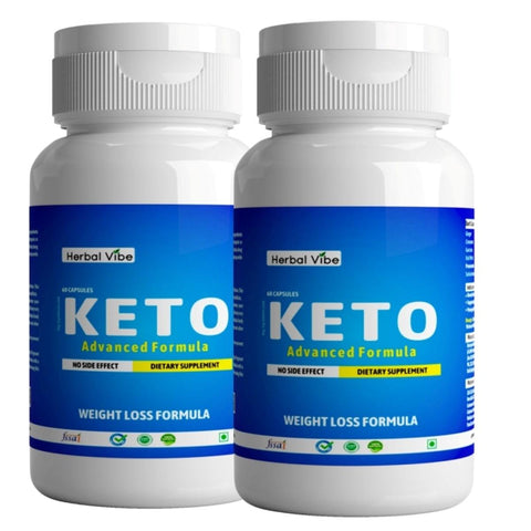 Keto Capsules (Advanced Weight Loss Supplement) (Pack of 2)