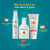 Kids Natural Body Wash - Chocolate Vanilla Drizzle (USDA Organic Essential Oils)