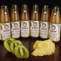 (Kiwi + Pineapple) Juice Blend (Pack of 6)