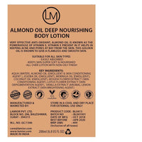 Deep Nourishing Body Lotion (With Almond Oil)
