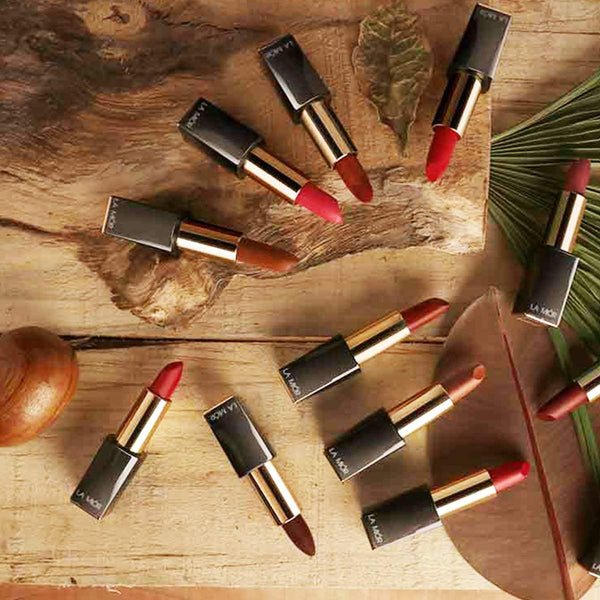 Fall Magic Natural Creme Lipstick - Deep Burgundy (Free of Parabens & Sulphates) at Qtrove