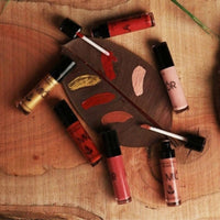 Plum Garden Natural Diamond Sheen Lip Gloss - Pink Wine (Free of Parabens & Sulphates)