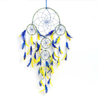 Large Yellow And Blue Color Wall Hanging