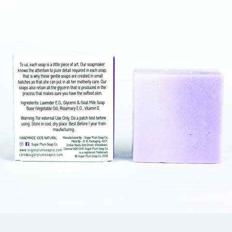 Lavender With Goat's Milk Bar (Pack of 2)