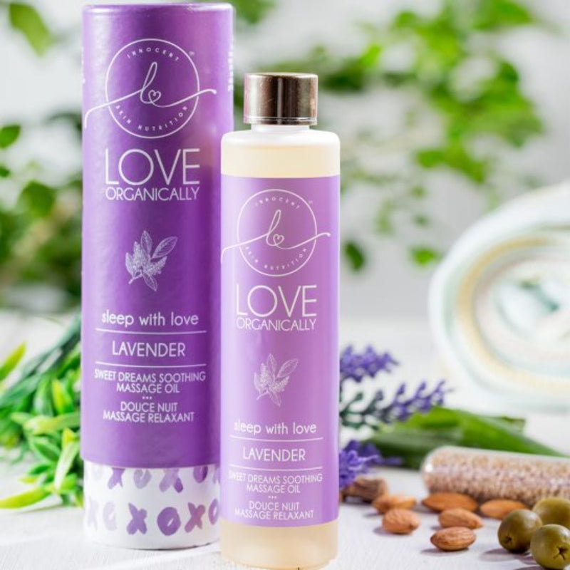 Lavender Soothing Massage Oil - With Botanical Extracts