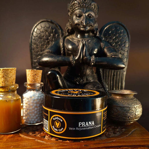 Prana : Vein Care Cream – Veins, Skin Discoloration & Minor Nerve Damage.