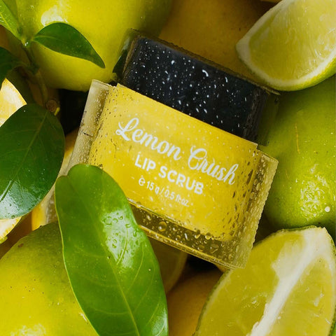 Lemon Crush Lip Scrub