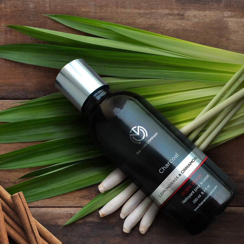 Lemongrass & Cinnamon Charcoal Bodywash