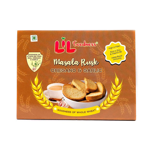 Masala Rusk Oregano And Garlic  (Pack of 4)