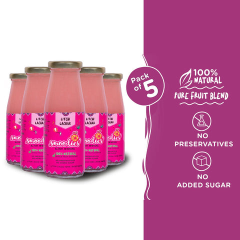 Litchi Lachak Smoothie (Pack of 5)