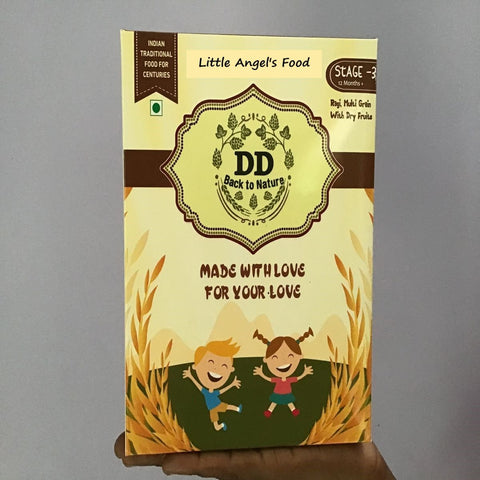 Little Angel's Food(Ragi, Multigrain With Dry Fruits) - Stage 3, 12 Months+