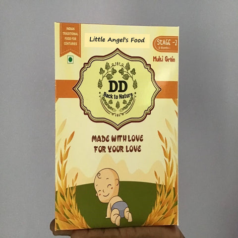 Little Angel's Food (Multigrain) - Stage 2, 6 Months +