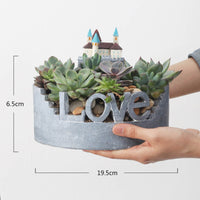 Love For Nature Resin Succulent Pot