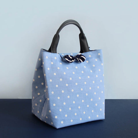 Lunch Bag (Blue Dots)
