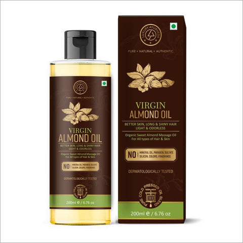 Virgin Almond Oil