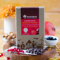 Pomegranate Chocolate Truffles