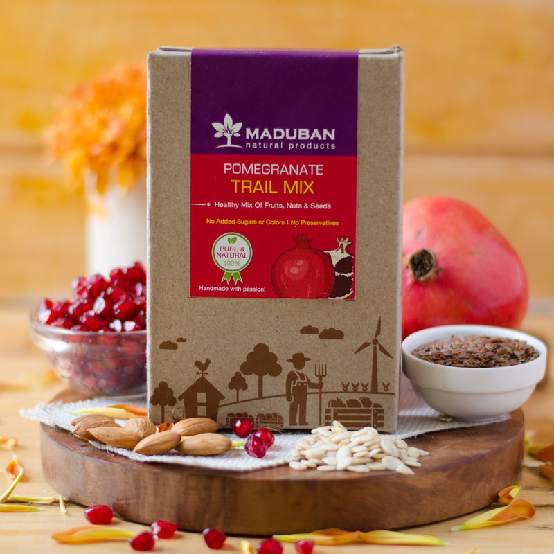 Pomegranate Trail Mix