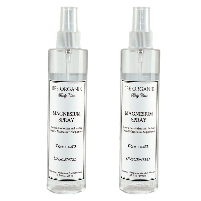 Magnesium Spray (Natural Deodorizer & Pain Relief) - Pack of 2