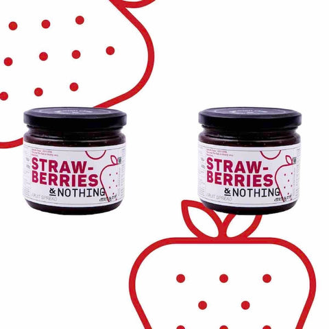 Mahabaleshwar Strawberries & Nothing Fruit Spread (All Natural & Pure)