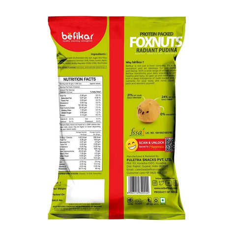 Makhana Radiant Pudina  (Foxnuts)(Pack of 5)