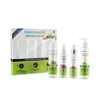 Anti Hair Loss Kit (Oil, Shampoo, Conditioner & Tonic)