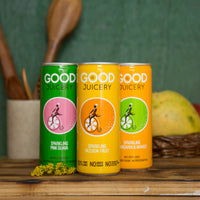 Sparkling Mandarin & Mango, Guava And Passion Fruit Combo (Pack of 3)