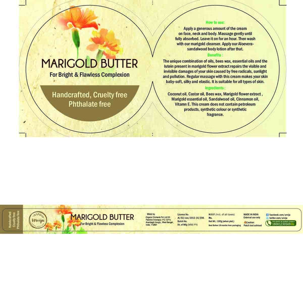 Marigold Butter (For Bright & Flawless Complexion) at Qtrove