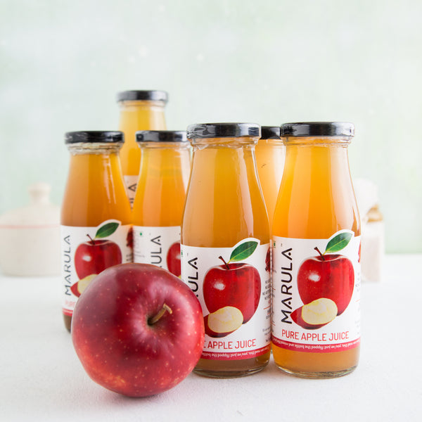 100% Pure Cold Pressed Apple Juice