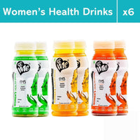 &Me PMS Women's Health Drink For Period Bloating, Cramps, Energy (Assorted Flavour)