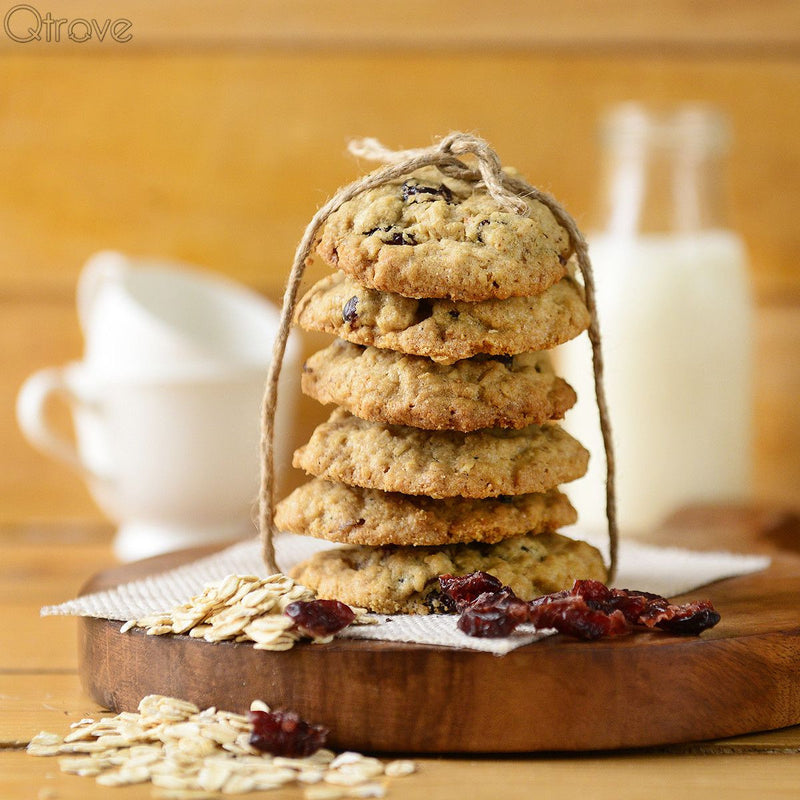 Healthy Cranberry And Oats Cookies