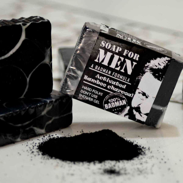 Activated Bamboo Charcoal Soap -Men's Exclusive(Pack of 2) at Qtrove