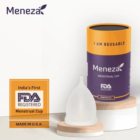 Meneza Menstrual Cup (US FDA Registered)