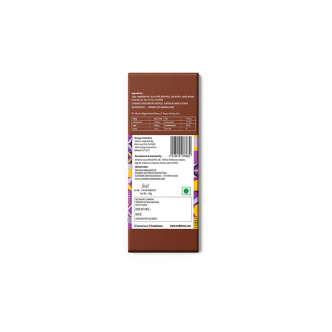 Chocolate | Milk Cocoa Bar With Butterscotch And Almonds (Pack of 2)