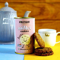 Millet Cookies(Honey, Oats & Raisins)(Pack Of 2)(100% Natural and Healthy)
