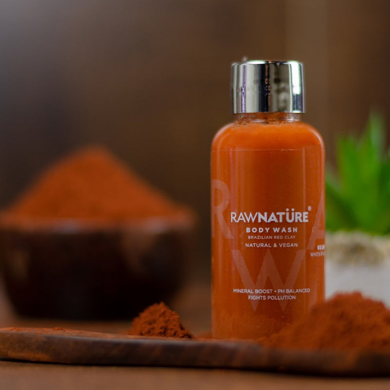 Miniature Brazilian Red Clay Body Wash