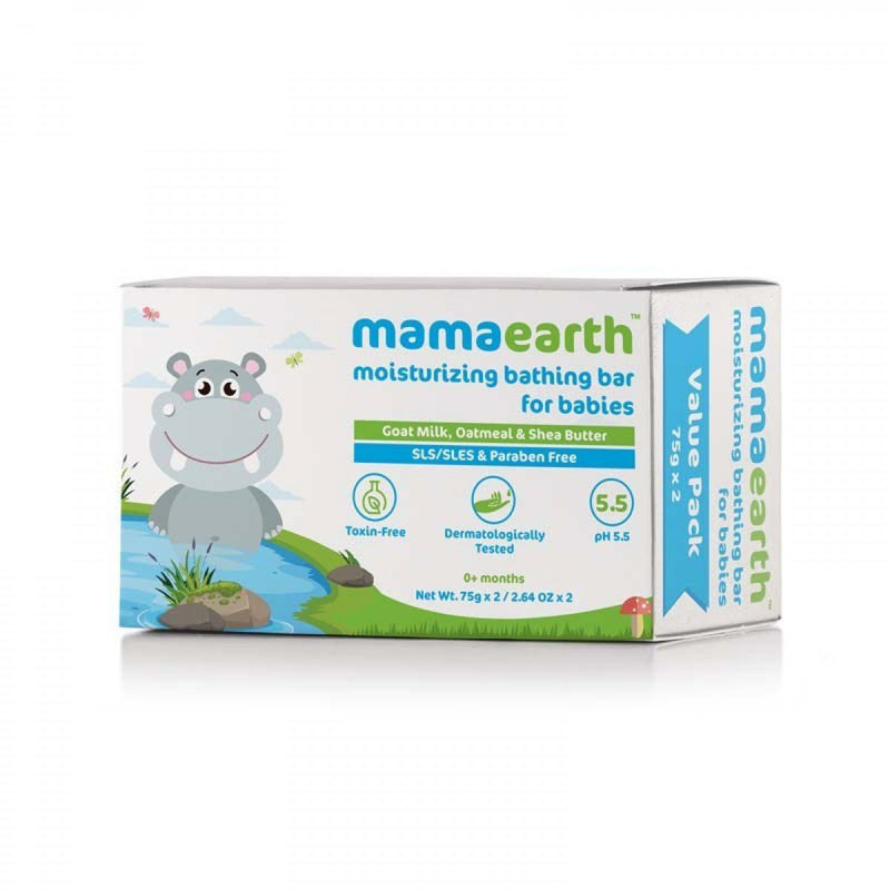 Moisturizing Baby Soap Bar (Pack of 2) (75 gm each)