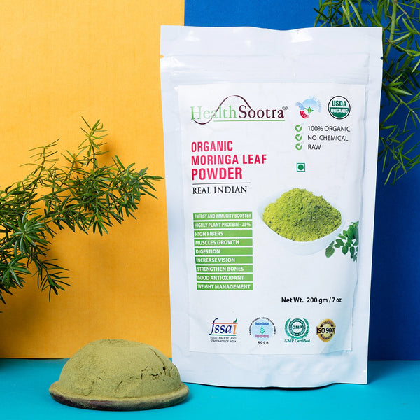 Moringa Leaf Powder-100% Organic at Qtrove