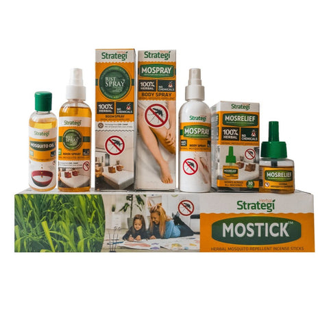 Mosquito Herbal Hamper (Pack of 5)