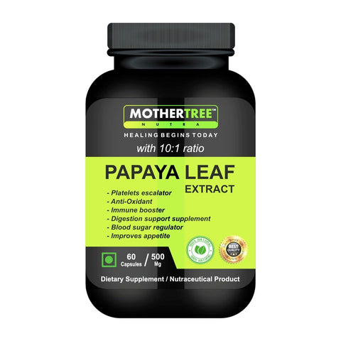 Papaya Leaf Extract Capsules